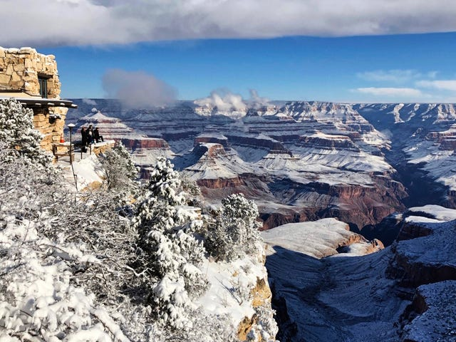 It Snowed in the Arizona Desert, and the Photos Look Otherworldly