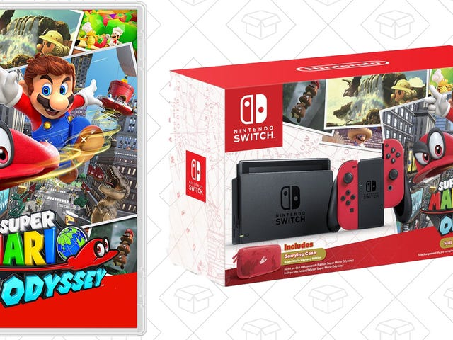 Last Chance: Get Mario Odyssey For $48 With Prime, Plus Switch Consoles In Stock