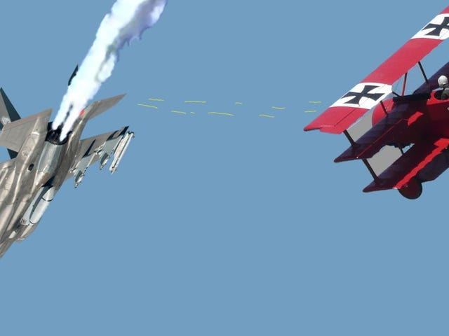Germany shoots down the F35