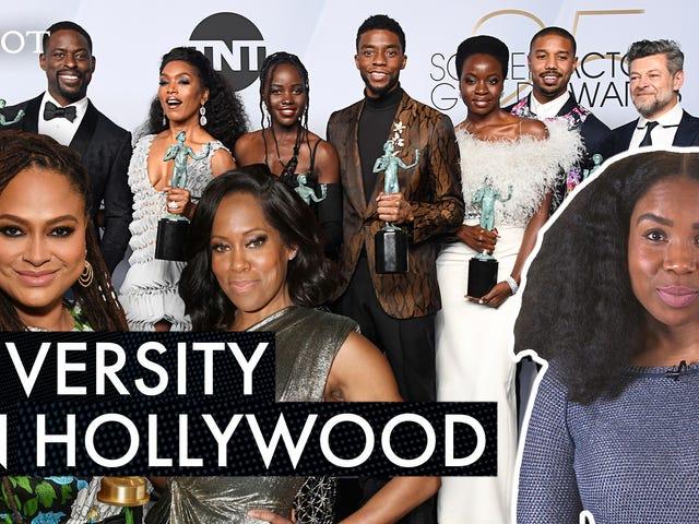 Hollywood har et problem med integration og disse berømtheder forsøger at løse det