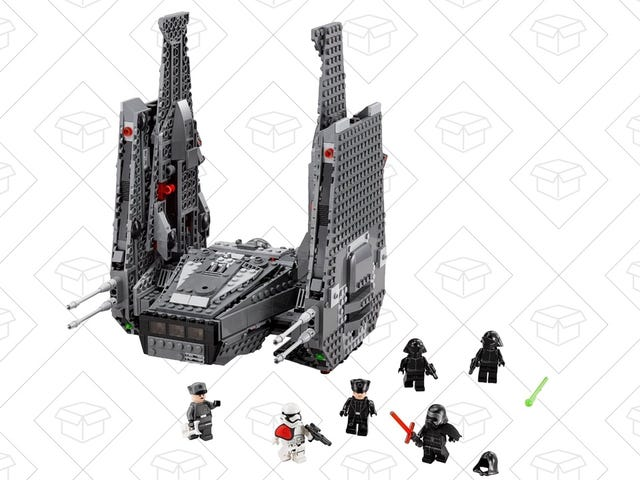 LEGO's Kylo Ren Command Shuttle Includes Weapons that Actually Fire