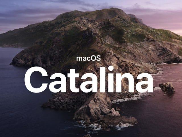 Tüm MacOS 10.15 Apple'ın WWDC 2019 Açılış Konuşmasından Catalina Duyuruları