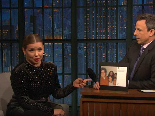 Justina Machado mengatakan pada Seth Meyers bahwa dia memprediksi kesuksesan SNL sahabat mereka, Horatio Sanz