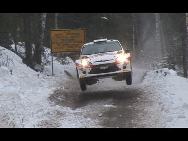 And Now For 24 Full Snow-Packed Minutes From The 2014 Rally Sweden