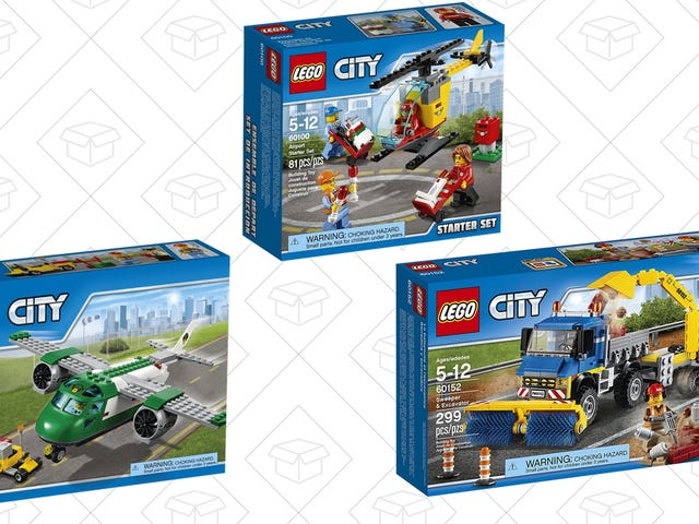 Build Your Toy Collection With Amazon's BOGO 40% Off Sale on LEGO City Sets