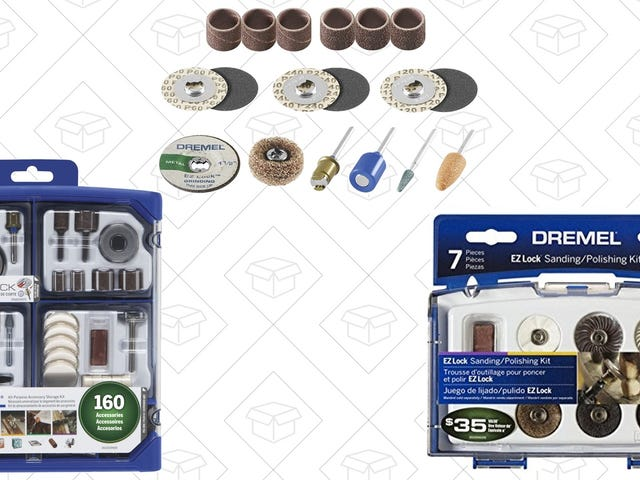 Do More With Your Dremel With These Discounted Accessory Kits
