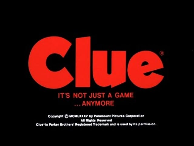 Clue (1985) vs. Murder By Death (1976)