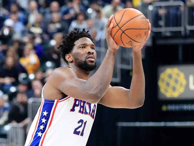 """Joel Embiid Ends Press Conference By Declaring That The Referees """"Fucking Suck"""""""