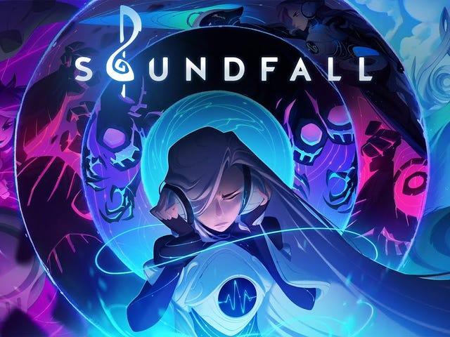"""Soundfall เป็น """"โปรแกรมรวบรวมข้อมูล Dungeon ที่สร้างตามจังหวะจังหวะที่สร้างขึ้นเพื่อการฟังเพลง"""""""