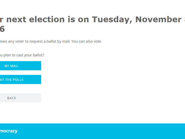 TurboVote Helps You Register and Notifies You About Upcoming Elections
