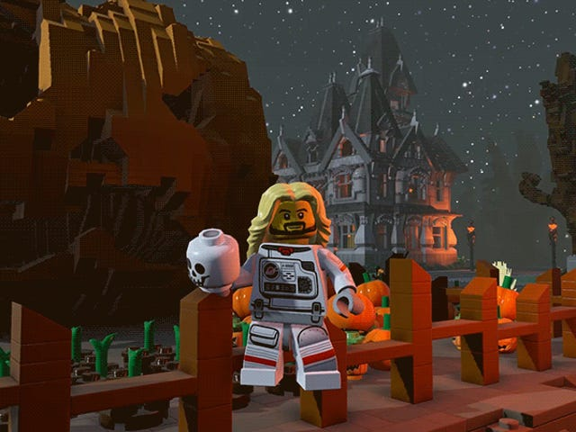 <i>Lego Worlds</i>' Monster Pack Is Creepy And Kooky