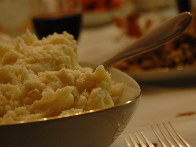Make More Buttery-Tasting Mashed Potatoes by Adding Butter Before Milk