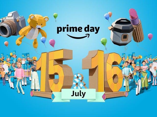 Ви можете почати покупки Amazon Прайм день угод зараз
