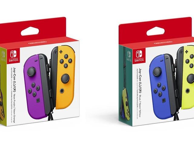 Nintendo Announces New Joy-Con Colors, Which Look Pretty Damn Nice
