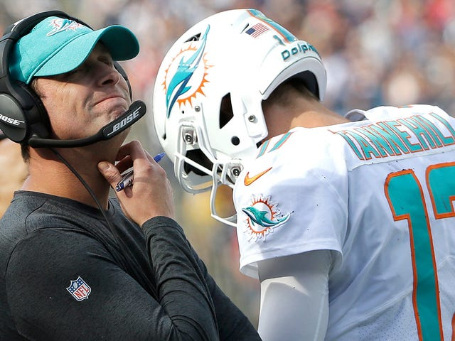 No One's Really Sure What The Dolphins Did With Ryan Tannehill