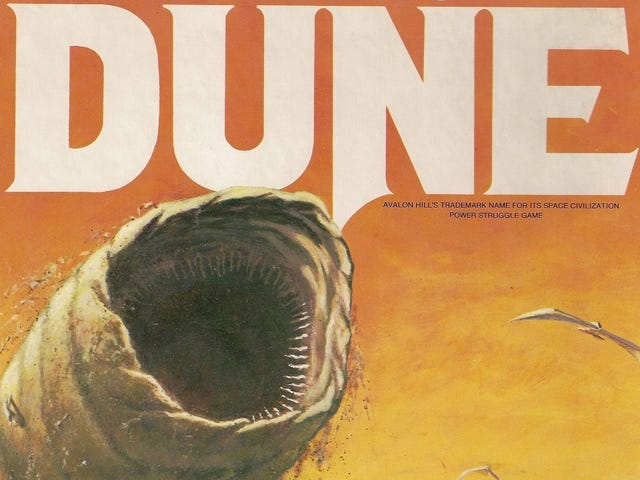 The Classic Dune Board Game Is Coming Back After Over 30 Years Out Of Print
