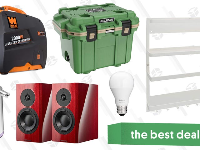 Sunday's Best Deals: Tempur-Pedic Mattress, Pelican Coolers, Forever 21, and More