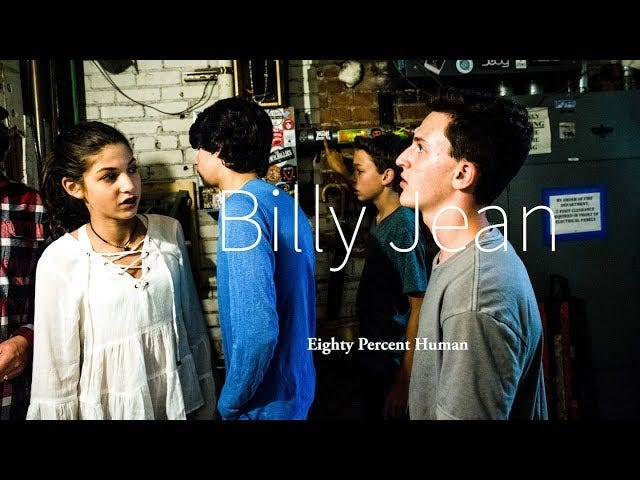 Eighty Percent Human covering 'Billie Jean' by Michael Jackson (Inspired by Chris Cornell)