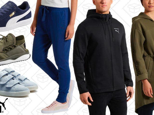 Let Your Wardrobe Do Some Heavy Lifting With This PUMA Private Sale