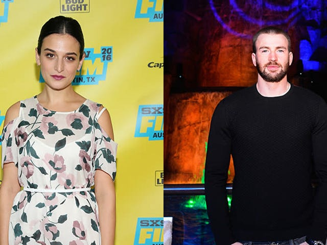 Jenny Slate and Chris Evans Engage in Online Flirtation, Fueling Rumors That the Two Are Back Together
