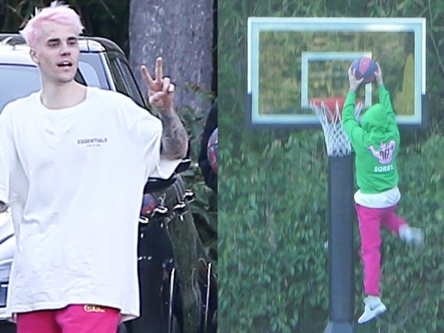 Justin Bieber Shows Solidarity With Millions of Twenty-Somethings Who Bleach Their Hair Every Winter