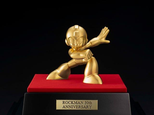 Gold Mega Man Figure Is Only $21,667