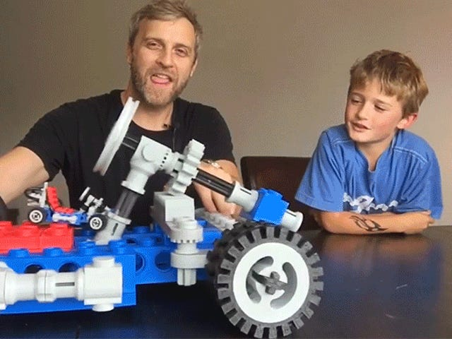 3D 프린터가 필요한 유일한 이유는 수퍼 사이즈 레고 세트입니다.