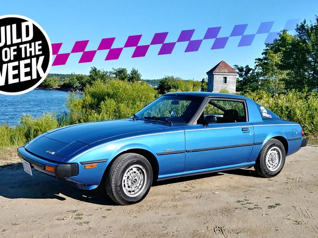 One Man's Quest To Prove That Mazda RX-7s Really Aren't That Tough To Work On