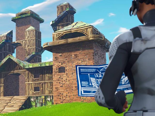 Fortnite's New Update Nerfs Fort Building [UPDATE]