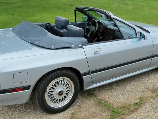 For $6,300, Would You Get The Drop On This 1988 Mazda RX7 Convertible?
