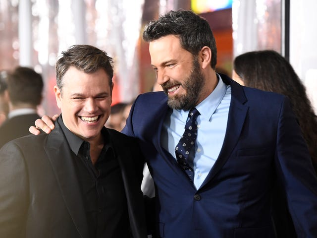 Ben Affleck & Matt Damon Are Hosting A Charity Poker Tourney On A Sketchy Offshore Site. What Could Go Wrong?