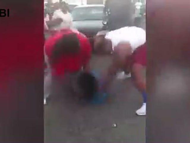 Il reclutamento dello stato del Mississippi a cinque stelle si scusa dopo che il video è emerso che presumibilmente picchia una donna
