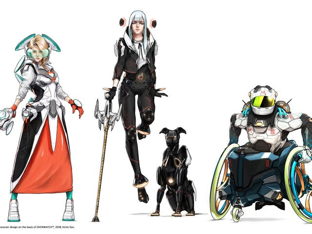 A Cool Set Of New Overwatch Character Designs