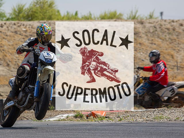 Pursuit no. 1: Supermoto School