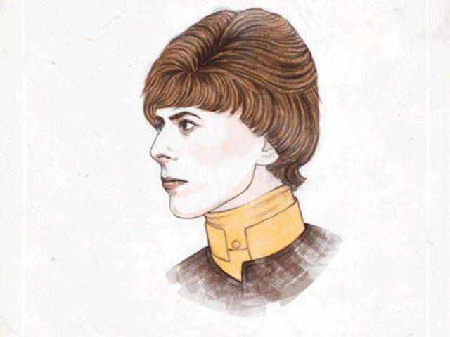 하나의 애니메이션 GIF에서 수년에 걸친 David Bowie의 변형을보십시오