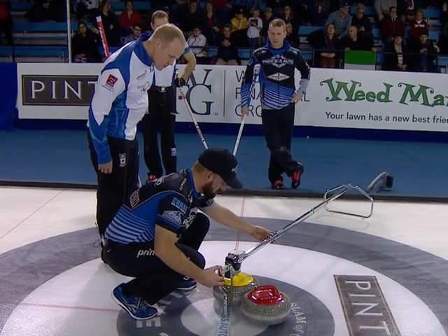 Not Even A Laser Can Solve This Curling Conundrum