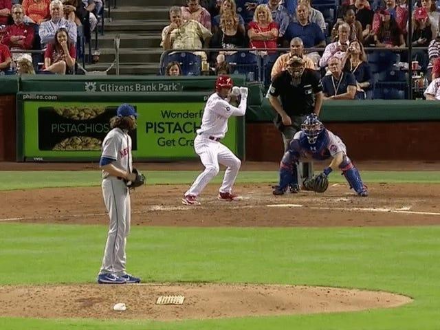 L'ultimo avvelenato Mets Starter prende la fodera del braccio di lancio