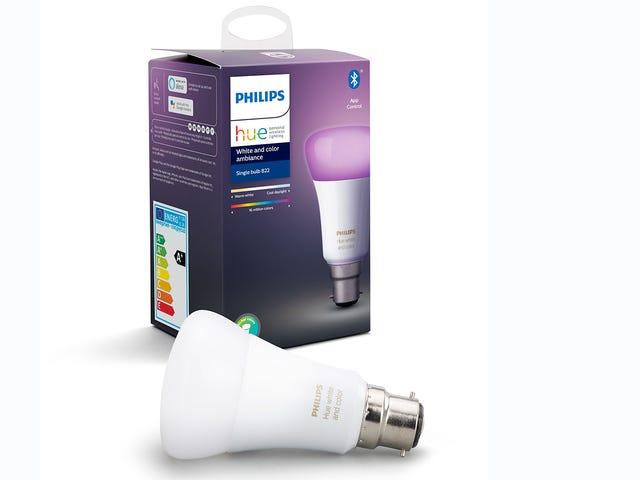 De nieuwe Bluetooth-lampen van Philips Hue maken het goedkoper om de beste slimme lichten uit te proberen
