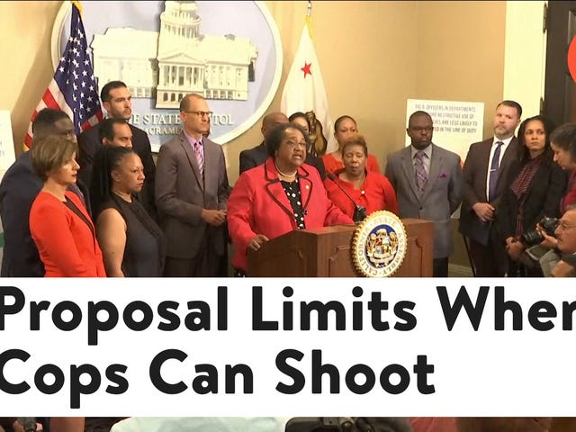California Lawmakers Want to Make it Harder for Police to Justify Shooting People