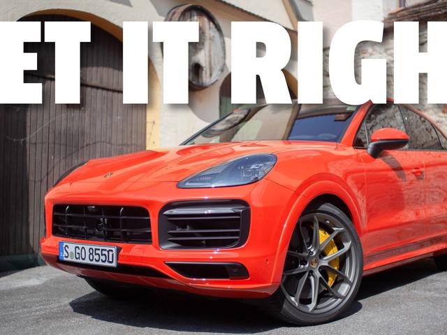 Η Porsche έχει έναν πολύ συγκεκριμένο επίσημο τρόπο να ευθυγραμμίσει το Crest στους τροχούς του