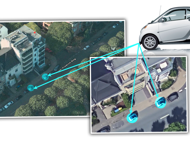 German Homeowner Buys Two Smart Cars Just To Keep People From Parking Near Driveway