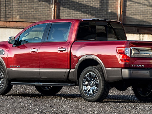 This Is The 'Smaller' New Nissan Titan