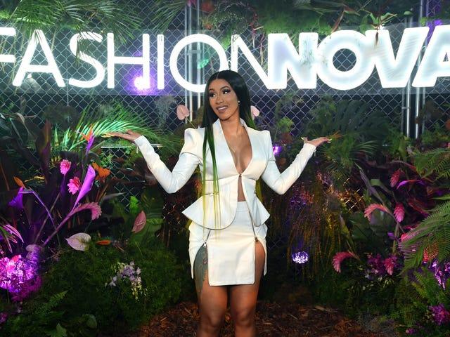 Sikrede du indkøbsposerne?  Cardi B's Second Fashion Nova-kollektion sælges hurtigt