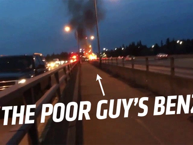 Watch This Poor Guy Justifiably Freak Out As His New Mercedes Explodes
