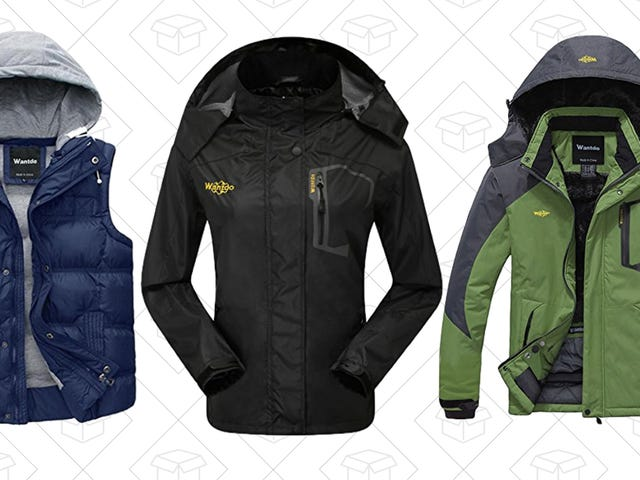 Finish Out the Season With New Outerwear From This One-Day Amazon Sale