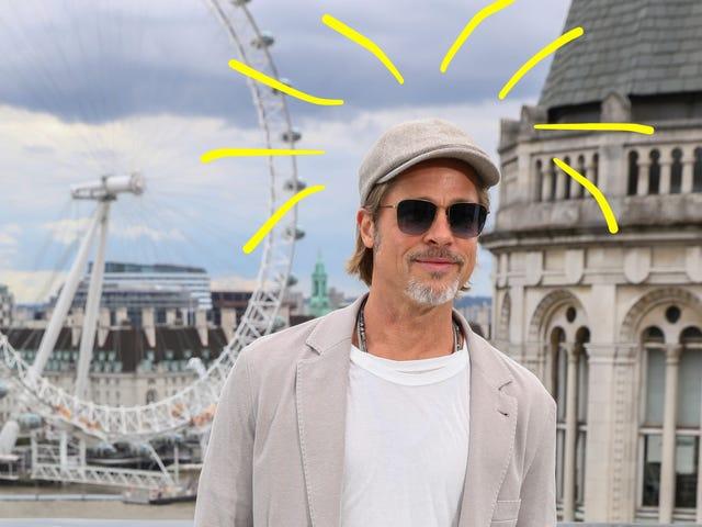 And Now, 10 Years of Brad Pitt's Newsboy Cap