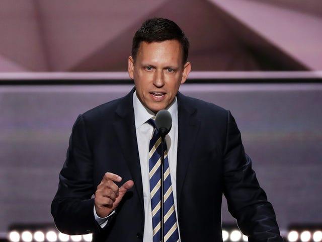 Peter Thiel Maaf atas Keraguan Keberadaan Pemerkosaan Tanggal
