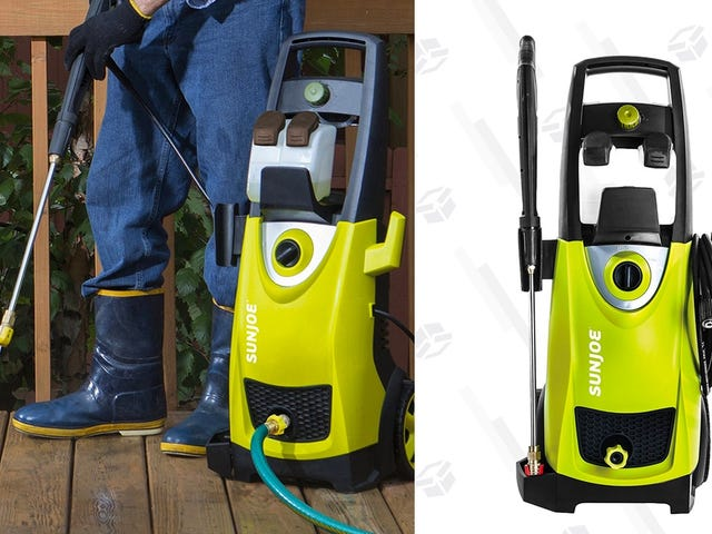Just Get Yourself a Pressure Washer, Already. This One's $30 Off.