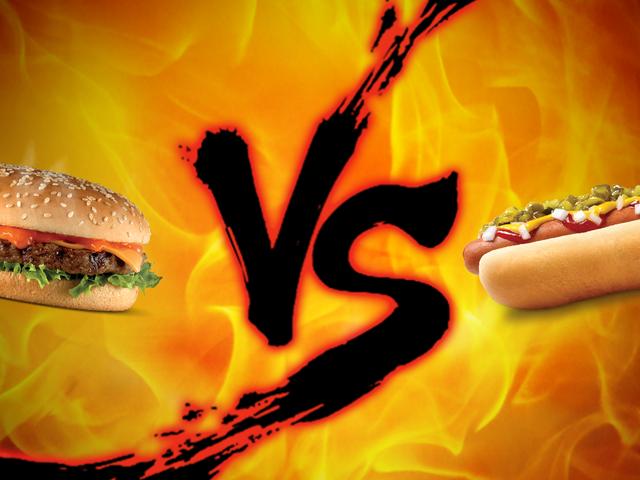 Labor Day Showdown: Burger vs Hot Dogs