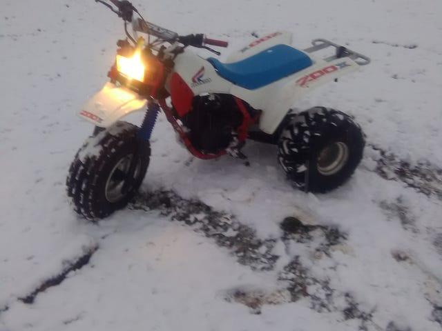 Snow and no Trike pics? Ha!
